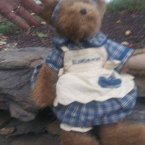 Large Muffin B Bluebeary Boyds Bear